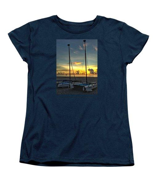 Sailing Vessels  Women's T-Shirt (Standard Cut)