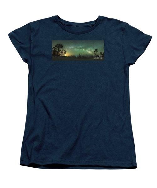 Saint Helena Island Milky Way Women's T-Shirt (Standard Cut) by Robert Loe