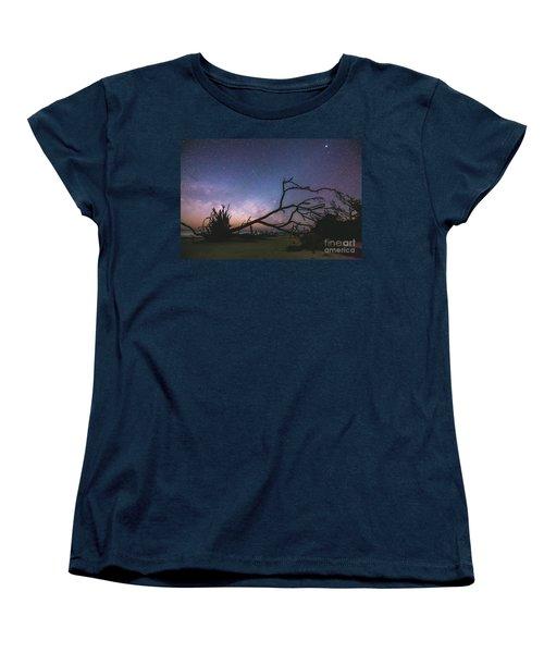 Saint Helena Milky Women's T-Shirt (Standard Cut) by Robert Loe