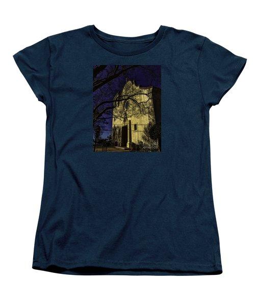 Women's T-Shirt (Standard Cut) featuring the photograph Saint Johns Three by Ken Frischkorn