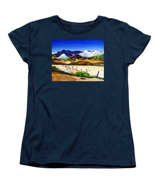 Salt Works - Port Alma Women's T-Shirt (Standard Cut) by Therese Alcorn