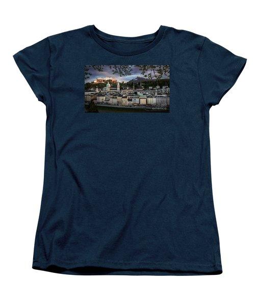 Salzburg Women's T-Shirt (Standard Cut) by Maurizio Bacciarini