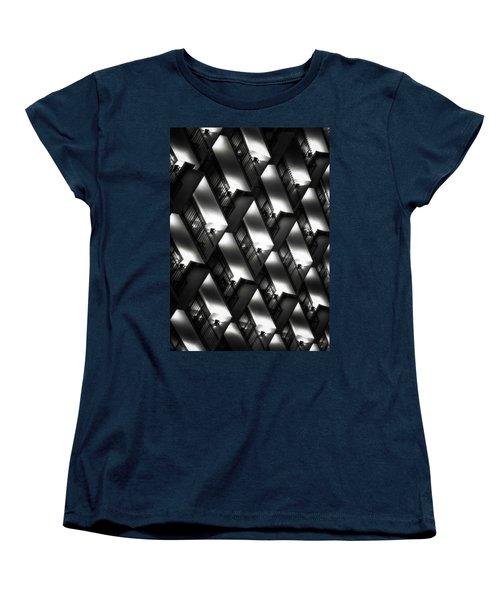 San Antonio At Night Women's T-Shirt (Standard Cut) by Eduard Moldoveanu