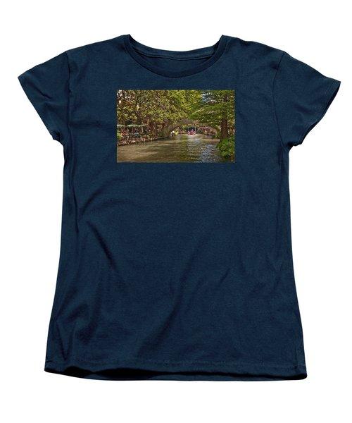 San Antonio Riverwalk Women's T-Shirt (Standard Cut) by Steven Sparks