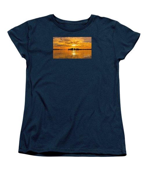 San Diego Golden Sky By Jasna Gopic Women's T-Shirt (Standard Cut)