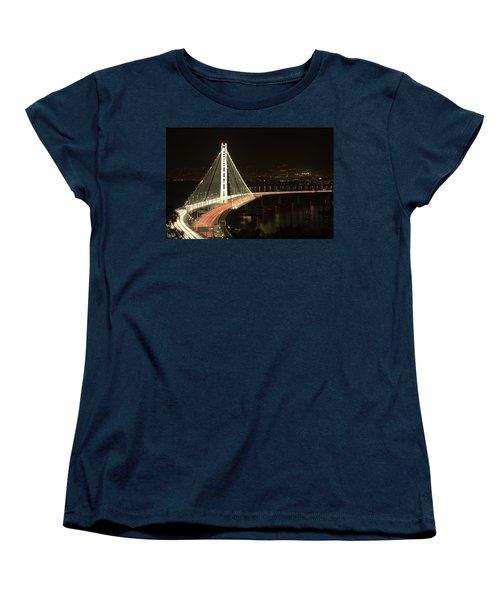San Francisco Bay Bridge New East Span Women's T-Shirt (Standard Cut)