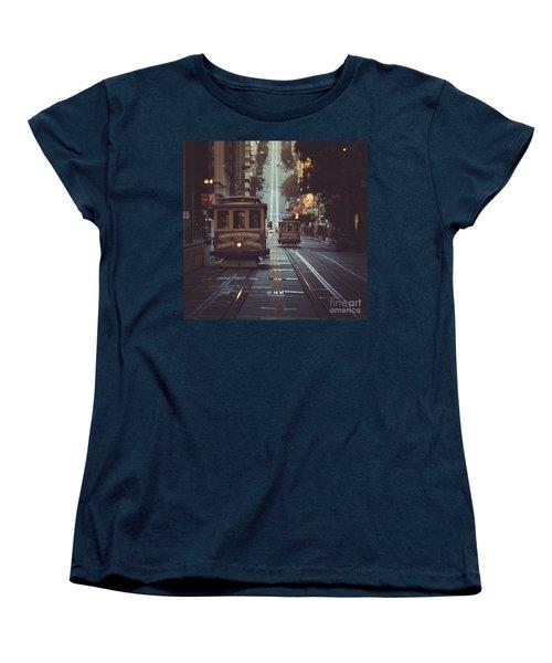 San Francisco Women's T-Shirt (Standard Cut) by JR Photography
