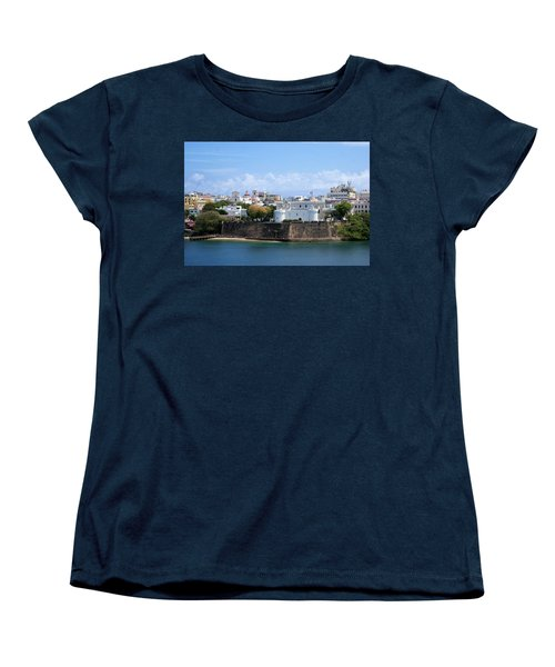 Women's T-Shirt (Standard Cut) featuring the photograph San Juan #1 by Lois Lepisto