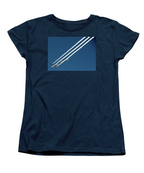 Women's T-Shirt (Standard Cut) featuring the photograph San Juan Aces by Kevin Munro