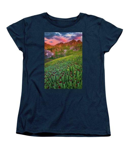 Women's T-Shirt (Standard Cut) featuring the photograph San Juan Sunrise by Darren White