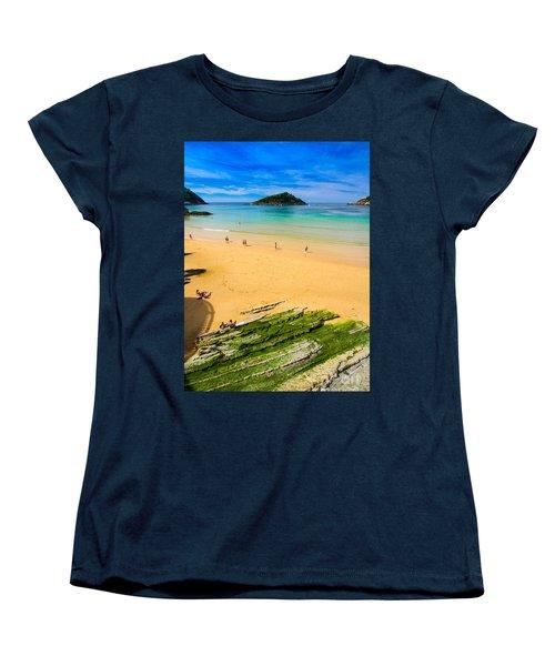 San Sebastian Summer Women's T-Shirt (Standard Cut) by Mariusz Czajkowski