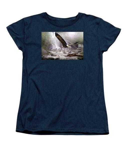 Sanctuary Women's T-Shirt (Standard Cut) by Bill Stephens