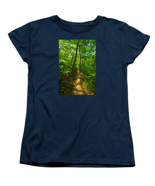 Sand Cave Trail Women's T-Shirt (Standard Cut)