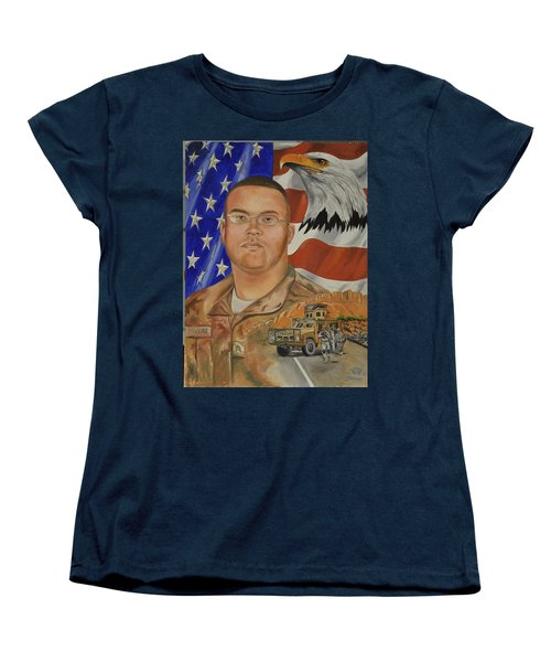 Sand Dune Tragedy Women's T-Shirt (Standard Cut) by Ken Pridgeon