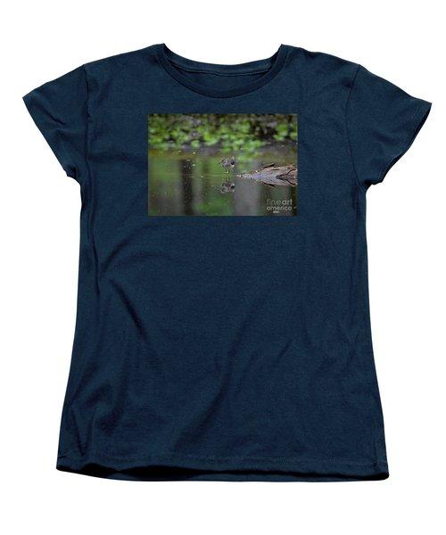 Sandpiper In The Smokies Women's T-Shirt (Standard Cut) by Douglas Stucky