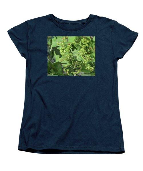 Sanibel Seagrapes Women's T-Shirt (Standard Cut) by Melinda Saminski