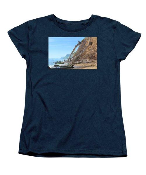 Women's T-Shirt (Standard Cut) featuring the photograph Santa Barbara Coast by Viktor Savchenko