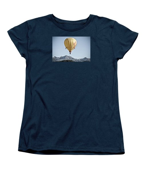 Women's T-Shirt (Standard Cut) featuring the photograph Santa Fe Air Force by Kevin Munro