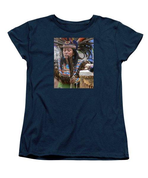 Santa Fe - La Shamana Women's T-Shirt (Standard Cut) by Allen Sheffield