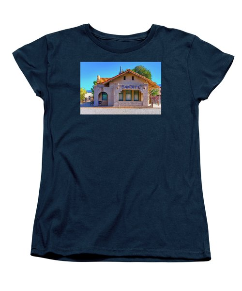Santa Fe Station Women's T-Shirt (Standard Cut) by Stephen Anderson