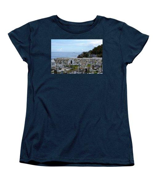 Santa Maria Magdalena De Pazzis Cemetery, Old San Juan Women's T-Shirt (Standard Cut)