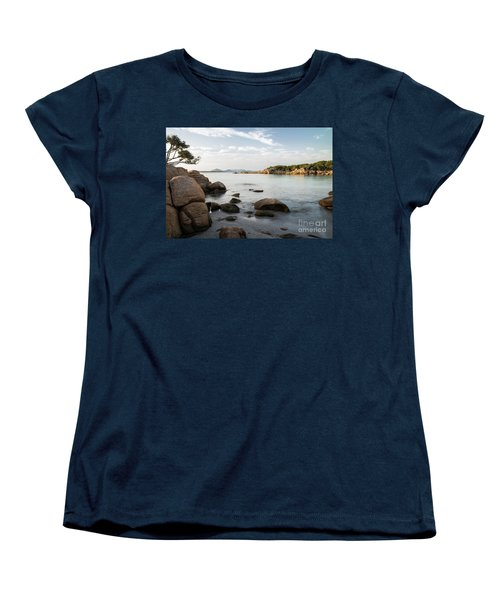Women's T-Shirt (Standard Cut) featuring the photograph Sardinian Coast by Yuri Santin
