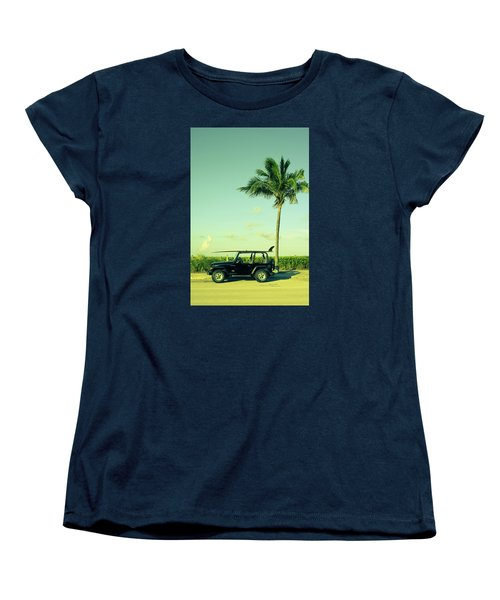 Women's T-Shirt (Standard Cut) featuring the photograph Saturday by Laura Fasulo