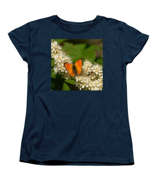 Women's T-Shirt (Standard Cut) featuring the photograph Scarce Copper 2 by Jouko Lehto