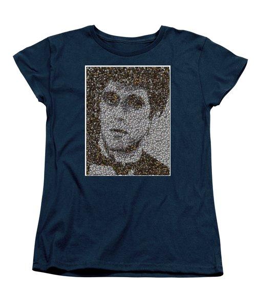 Women's T-Shirt (Standard Cut) featuring the mixed media Scarface Coins Mosaic by Paul Van Scott