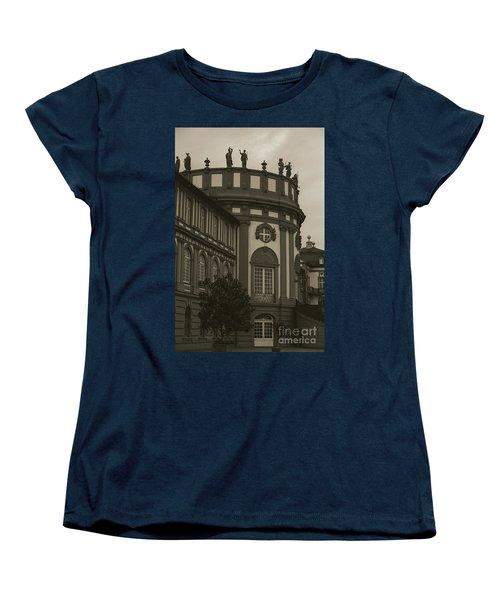 Schlosspark Biebrich Women's T-Shirt (Standard Cut) by Jim And Emily Bush