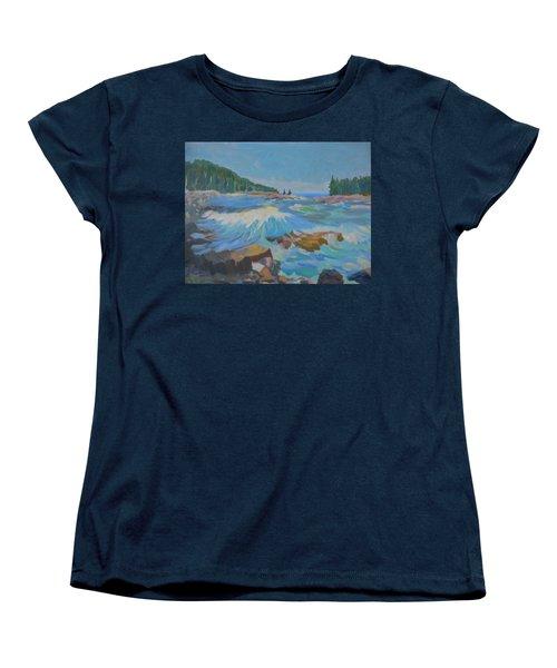 Schoodic Inlet Women's T-Shirt (Standard Cut)