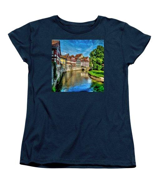 Women's T-Shirt (Standard Cut) featuring the photograph Schwabish Hall by David Morefield