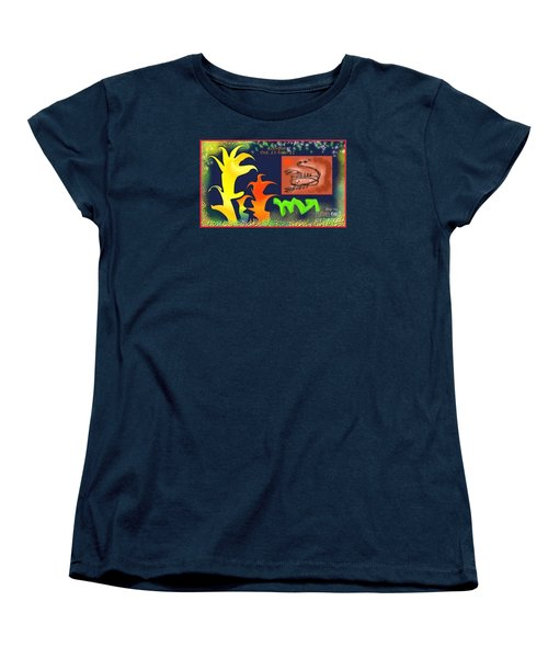 Women's T-Shirt (Standard Cut) featuring the digital art Scorpio by The Art of Alice Terrill