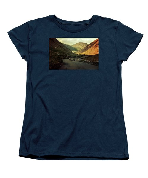 Scotland At The Sunset Women's T-Shirt (Standard Cut) by Jaroslaw Blaminsky