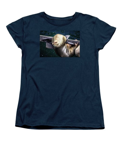 Women's T-Shirt (Standard Cut) featuring the photograph Scratch The Itch by Randy Bayne