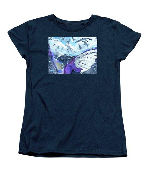 Scream Of The Gulls Women's T-Shirt (Standard Cut) by Seth Weaver