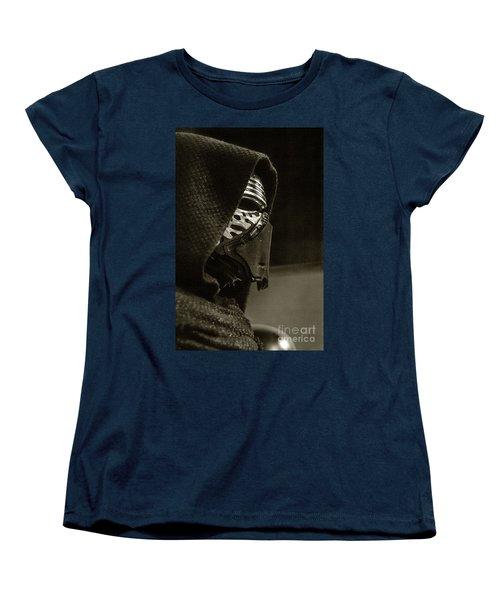 Women's T-Shirt (Standard Cut) featuring the photograph Screen Worn Kylo Ren by Micah May