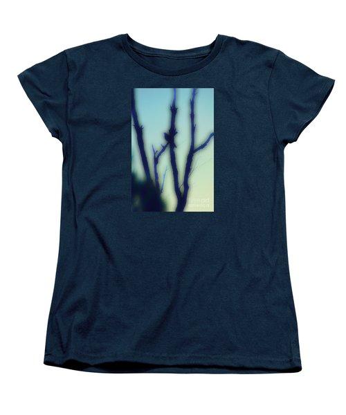 Women's T-Shirt (Standard Cut) featuring the photograph Scrub Silhouette by Cassandra Buckley