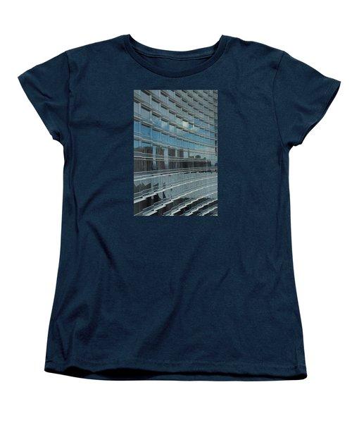 Sculpted Mirrors Women's T-Shirt (Standard Cut) by Michiale Schneider