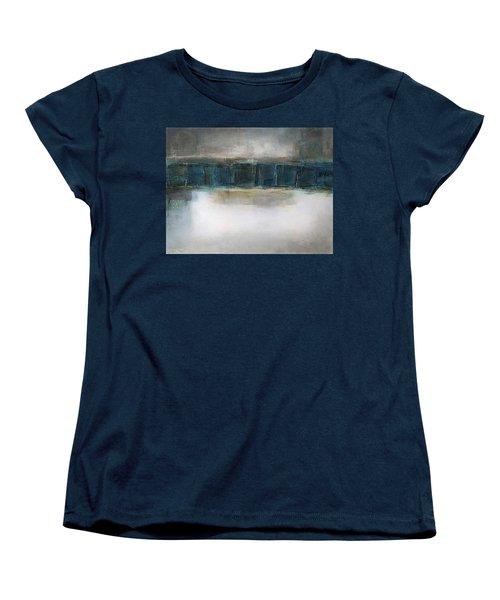 Sea Women's T-Shirt (Standard Cut) by Behzad Sohrabi