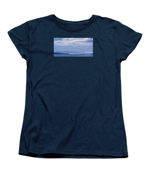Sea Fret Women's T-Shirt (Standard Cut) by David  Hollingworth