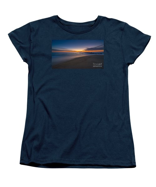 Sea Girt Sunrise New Jersey  Women's T-Shirt (Standard Cut) by Michael Ver Sprill