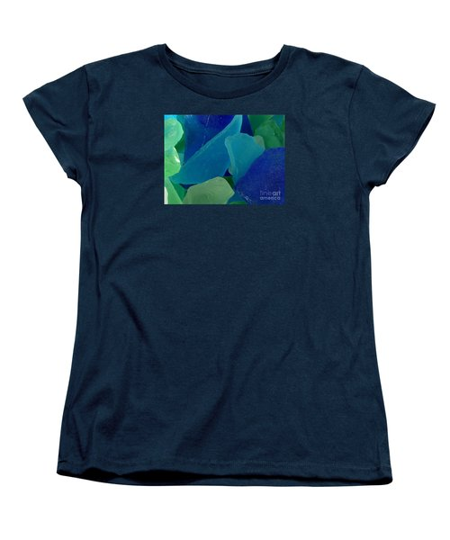 Women's T-Shirt (Standard Cut) featuring the photograph Sea Glass by Chad and Stacey Hall