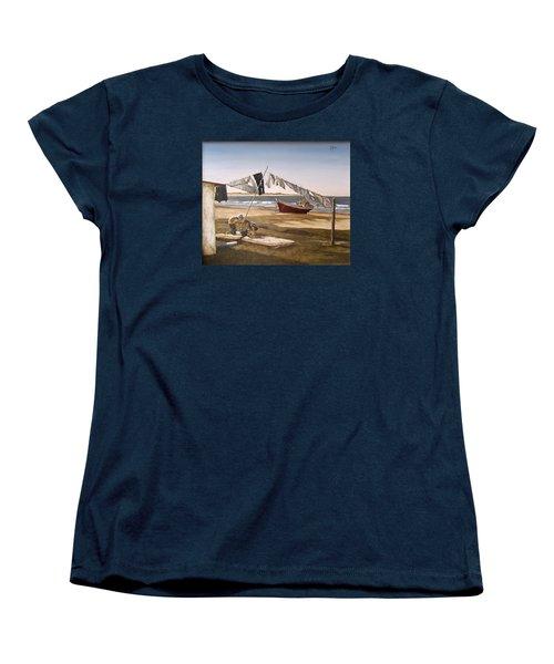 Sea Kids Women's T-Shirt (Standard Cut)