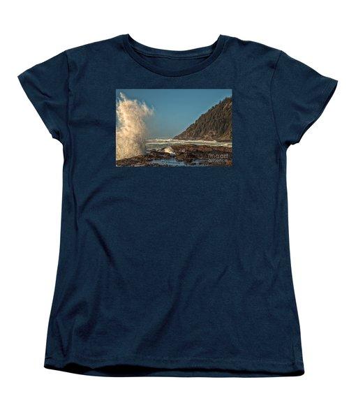 Sea Monster Women's T-Shirt (Standard Cut) by Billie-Jo Miller