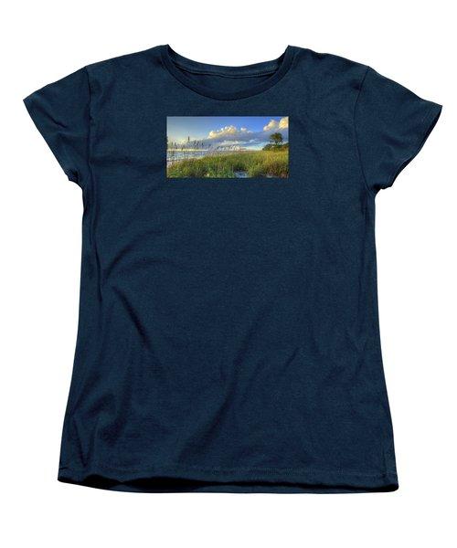 Sea Oats Women's T-Shirt (Standard Cut) by Sean Allen
