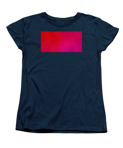 Sea Song Tropical Sunset Women's T-Shirt (Standard Cut) by Stephanie Grant