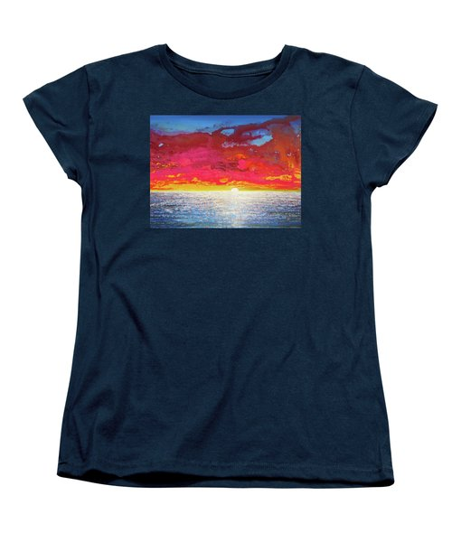 Sea Splendor Women's T-Shirt (Standard Cut) by Mary Ellen Frazee
