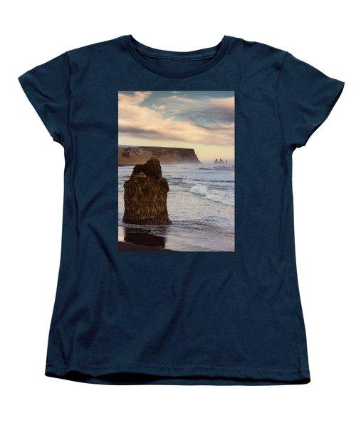 Sea Stack II Women's T-Shirt (Standard Cut) by Allen Biedrzycki
