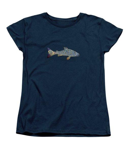 Sea Trout Women's T-Shirt (Standard Cut) by Mikael Jenei